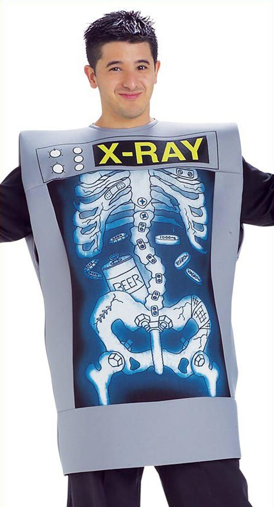 Disfraz de Rayos X