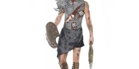 Disfraz de gladiador zombie