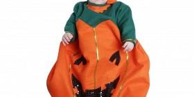 Disfraz para Halloween de bebé calabaza