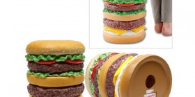 Divertida silla hamburguesa