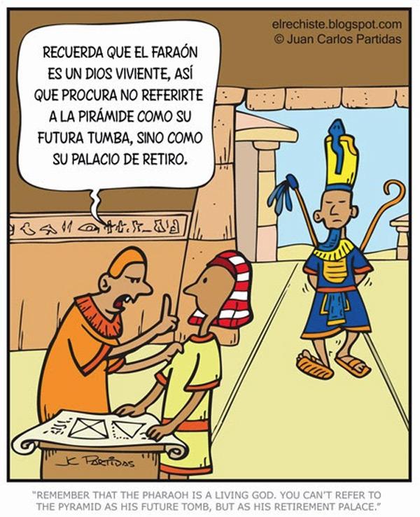 El faraón es un dios viviente