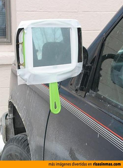 El nuevo espejo de mi coche