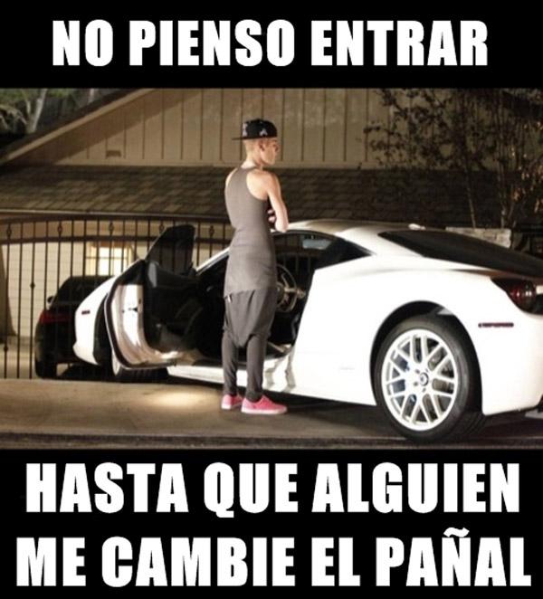 El pañal de Justin Bieber
