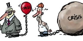 El peso de la crisis