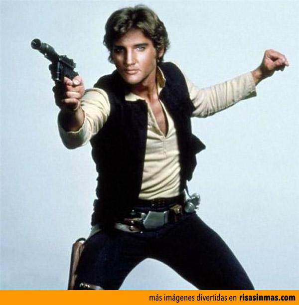 Elvis Presley como Han Solo