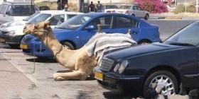 En un aparcamiento en Dubai