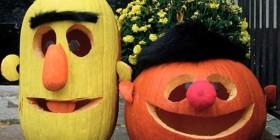 Epi y Blas listos para Halloween