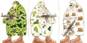 Evolución de los uniformes de camuflaje