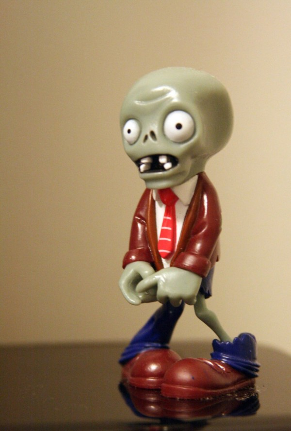 Figura zombie de Plants vs Zombies
