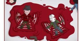 Freddy y Jason se divierten