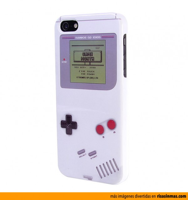 Funda iPhone 5 Game Boy