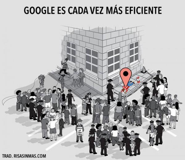 Google es cada vez más eficiente
