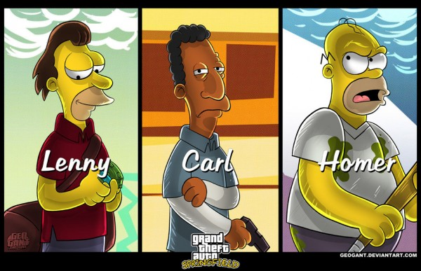 GTA Simpsons