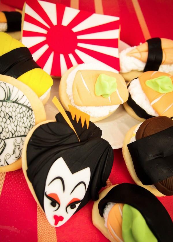 Galletas sushi