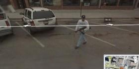 Google Street View en una calle cualquiera de Estados Unidos