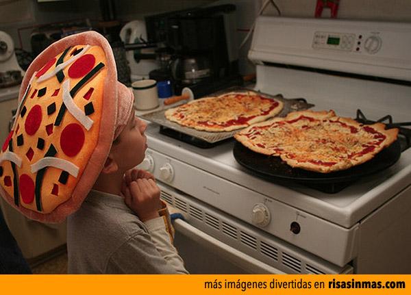 Gorro perfecto para preparar pizzas