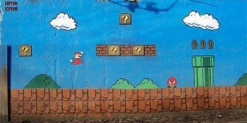 Graffiti de Mario Bros
