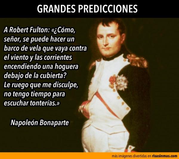 Grandes predicciones: Napoleón