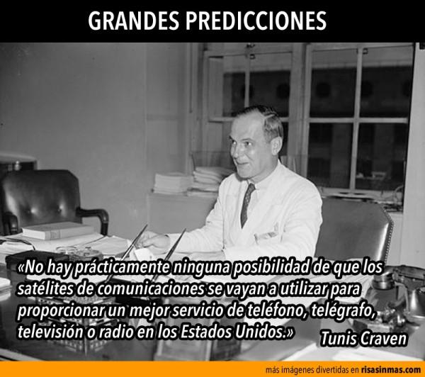 Grandes predicciones: Tunis Craven