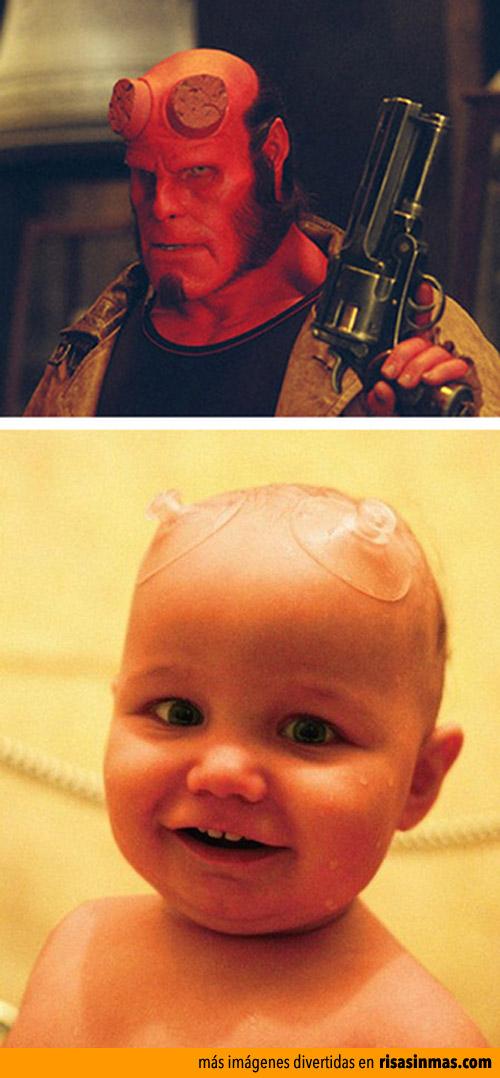 Hellboy de bebé