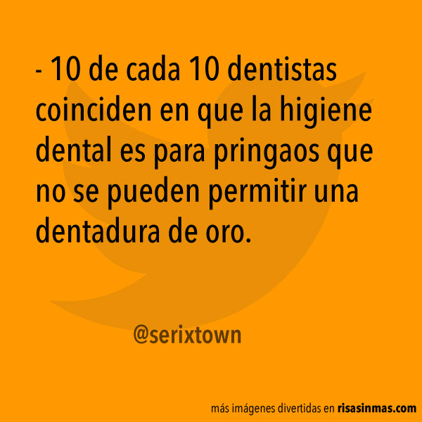 Higiene dental para pringaos