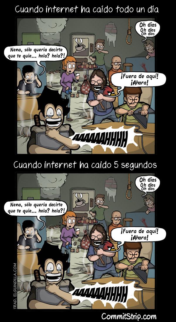 Internet caído