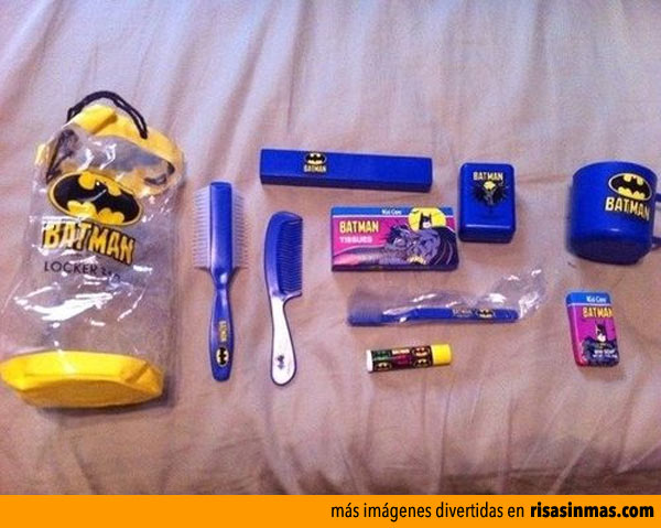 Kit indispensable para ser un superheroe