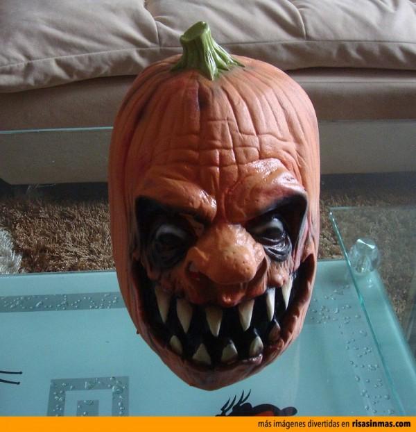 La calabaza más terrorífica de halloween