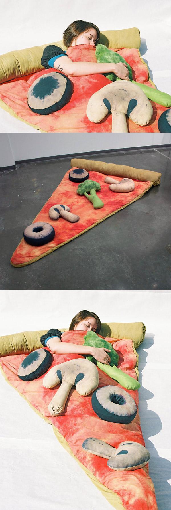 La cama-pizza