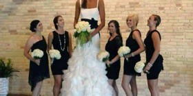 La novia más alta del mundo
