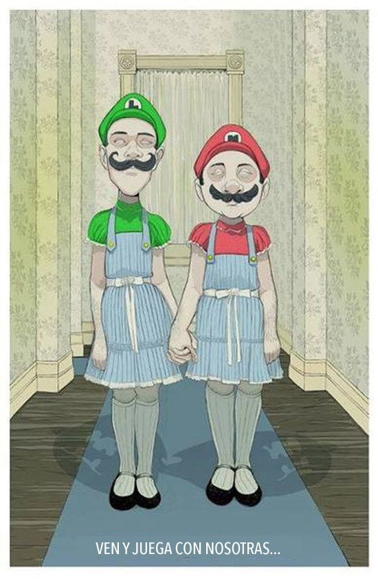 Las gemelas Mario y Luigi-Grady