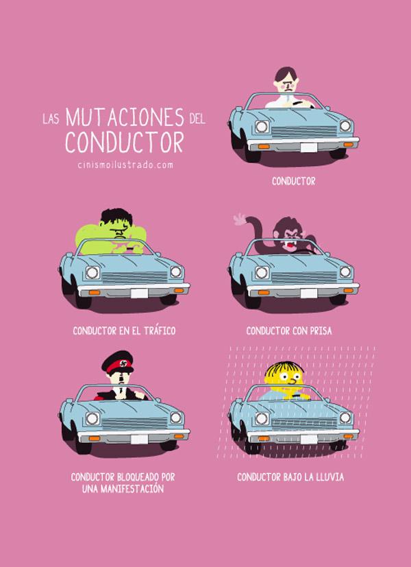 Las mutaciones del conductor