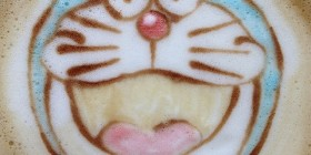 Latte Art: Doraemon