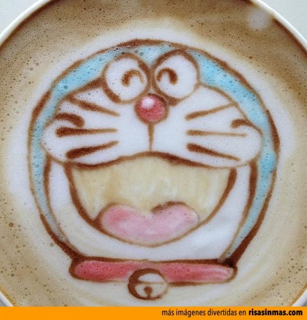 Latte Art: Doraemon