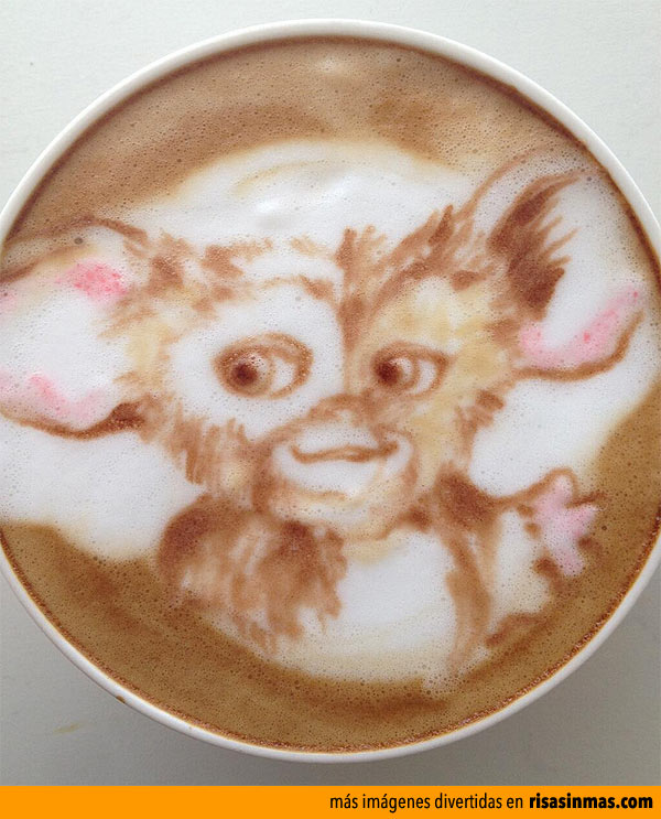 Latte Art: Gizmo