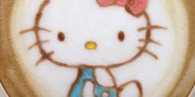 Latte Art: Hello Kitty