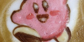 Latte Art: Kirby