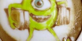Latte Art: Mike Wazowski