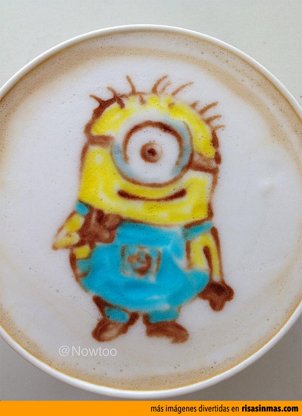 Latte Art: Minion