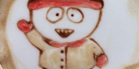Latte Art: Stan Marsh (South Park)