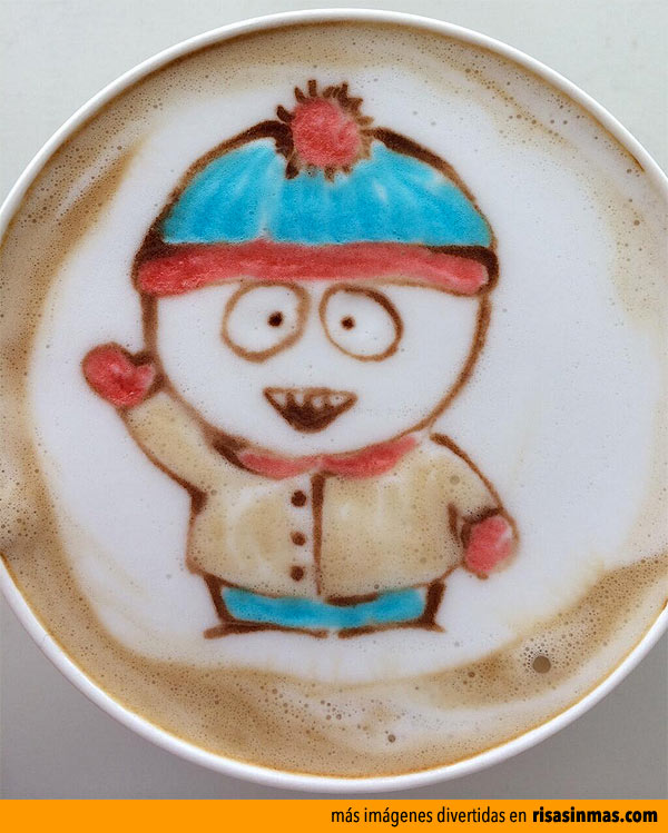 Latte Art: Stan Marsh (South Park)