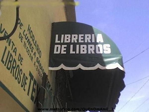 Librería de libros