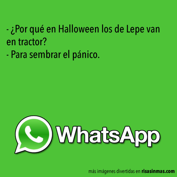 Los de Lepe en Halloween