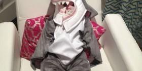 Los mejores disfraces para bebés: Tiburón
