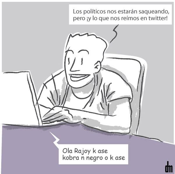 Los políticos y el Twitter