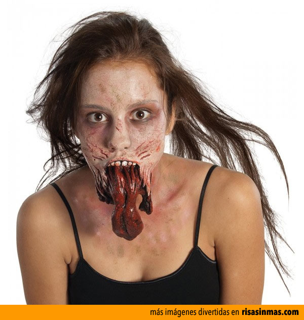 Maquillajes para Halloween: The Walking Dead