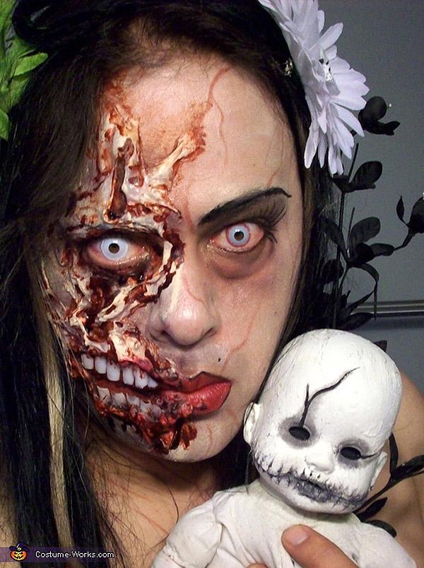 Maquillajes para Halloween: Zombie