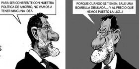 Mariano Rajoy y su coherencia política