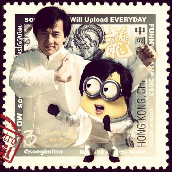 Minion Jackie Chan