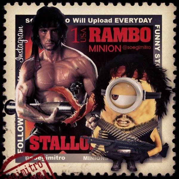Minion Rambo